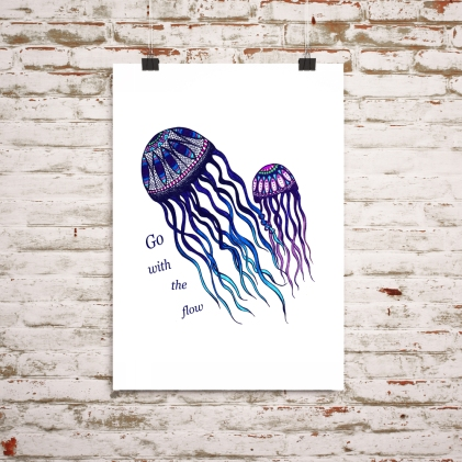 jellyfish on wall for web